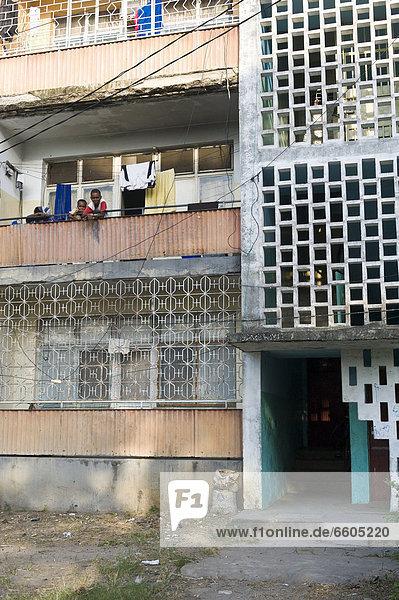 Entwicklung Apartment bauen Hilfe Afrika Tansania Sansibar