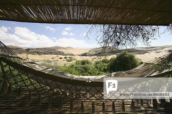 Hammock Looking Over Koakoland Desert