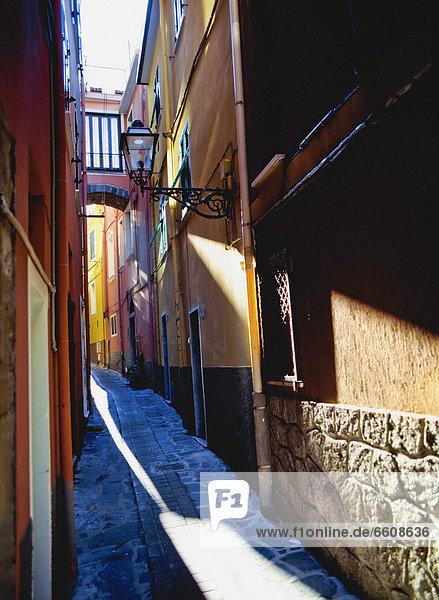 Alley In Village Of Riomaggiore