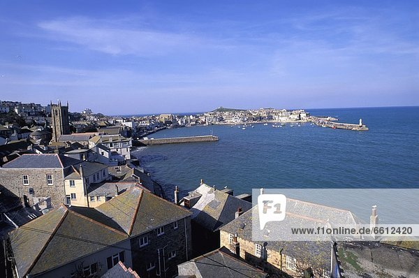 Elevated view of St. Ives