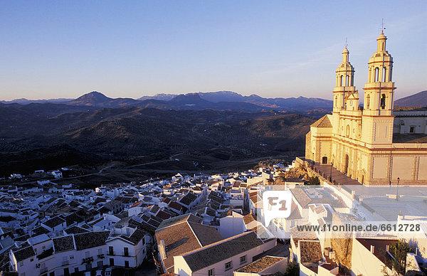 Town and Church La Encarnacion Olvera