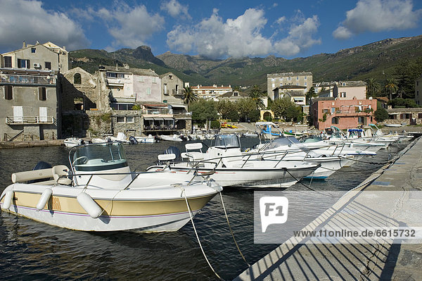 The Small Harbour At Erbalunga Along The East Coast Of Cap Corse. Corsica. France Photo © Chris Parker / Axiom