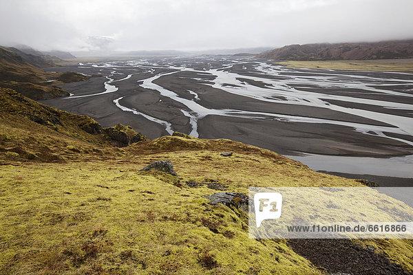 Joekulsa i Loni  East Iceland  Iceland  Europe