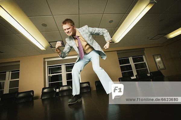 I'm The Man - Dancing On Boardroom Table