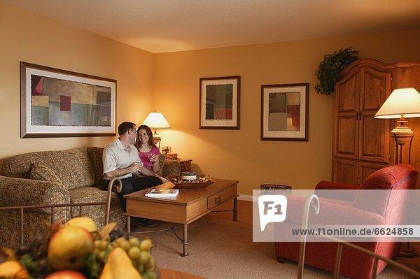 sitzend Zimmer Wohnzimmer