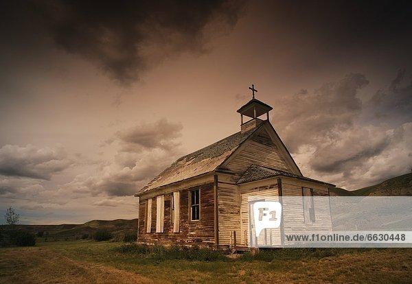 A Simple Wooden Church