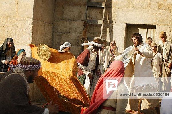 Außenaufnahme  Zorn  Jesus Christus