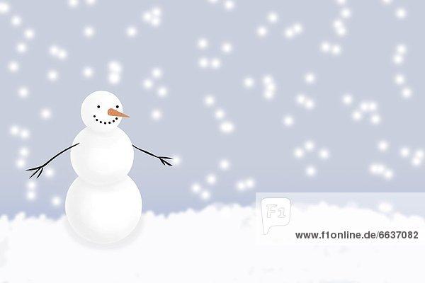 Winter  Schneemann