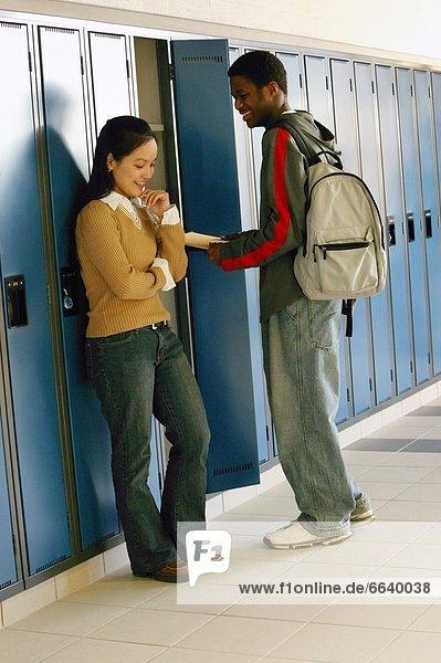 Korridor  Korridore  Flur  Flure  Student