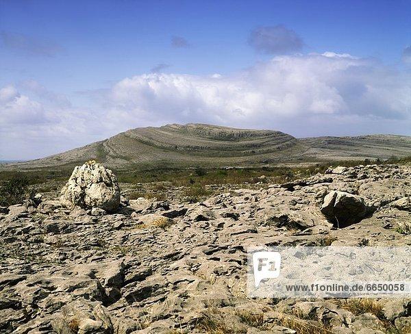 Clare County  Irland  Burren