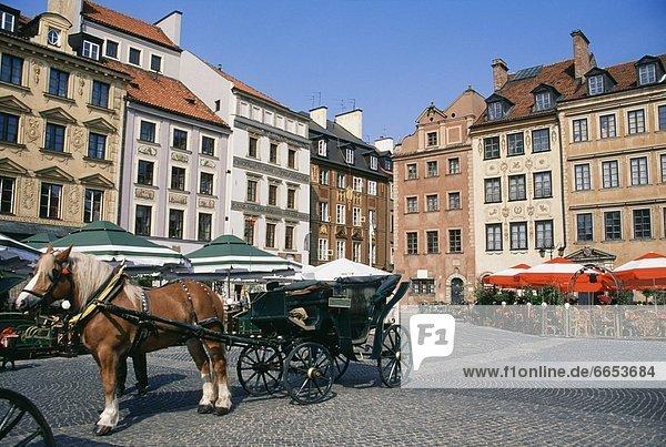 Warschau  Hauptstadt  Polen