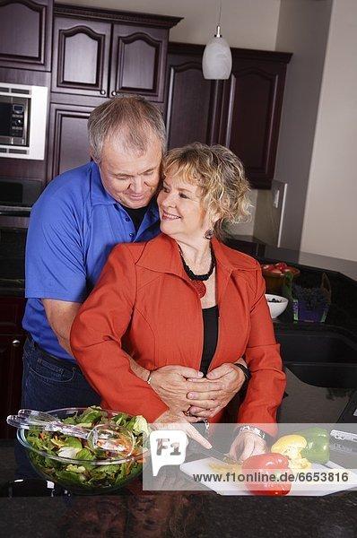 Ehefrau Küche Ehemann