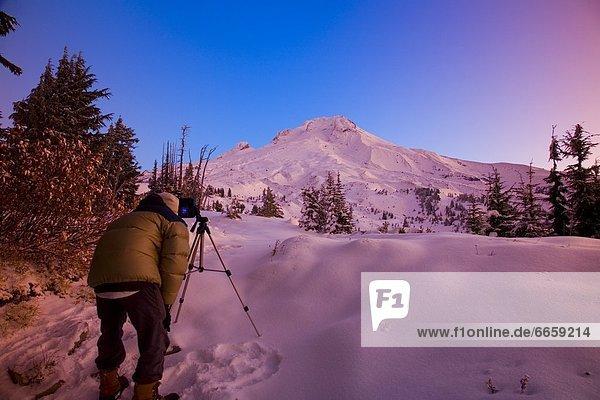 Vereinigte Staaten von Amerika  USA  Mount Hood  Oregon