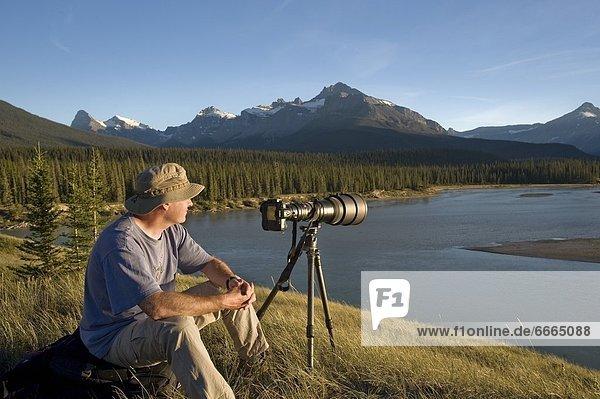Fröhlichkeit  Fotograf  Ansicht  Alberta  Banff  Kanada