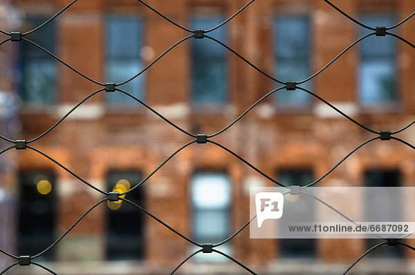 Urban Wire Mesh Fence
