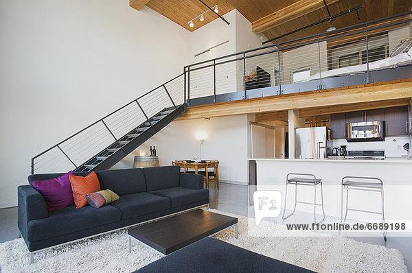 Innenaufnahme Apartment Effizienz