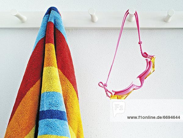 Strand  Handtuch  Schutzbrille