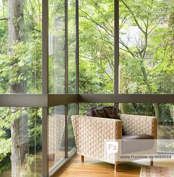 Fenster Stuhl