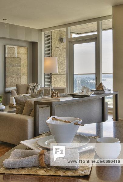 sitzend  Zimmer  modern