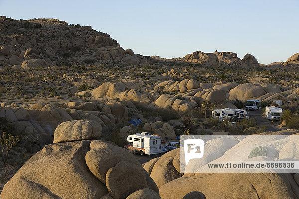 RV Camping In The High Desert