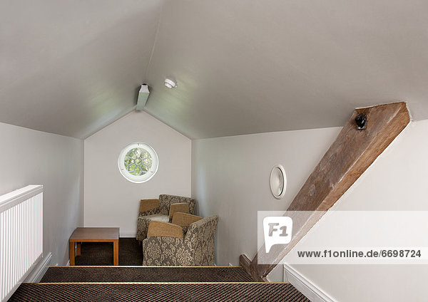 Small Attic Sitting Room