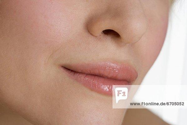 Frau  Close-up  close-ups  close up  close ups mund