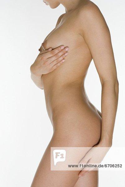 Profil  Profile  Ansicht  nackt