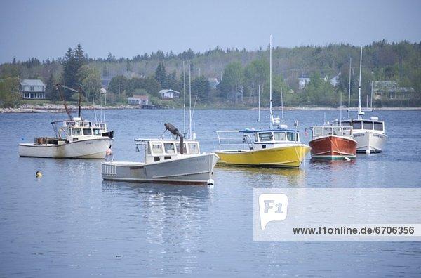 Fischereihafen  Fischerhafen  Boot  Hummer  Maine