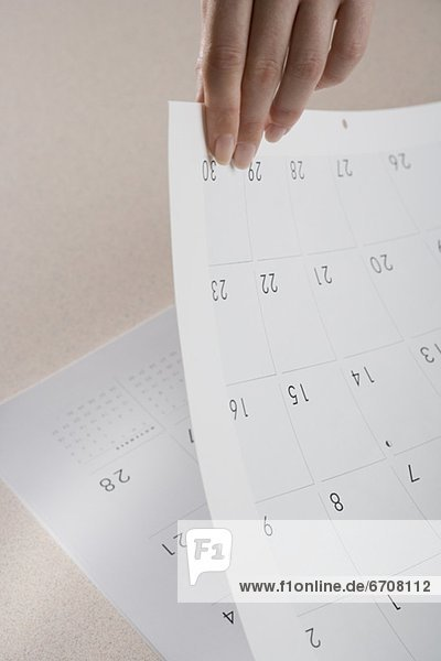 Frau  Kalender