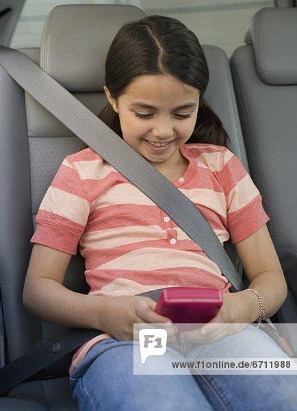 Auto  Spiel  Camcorder  Mädchen  spielen