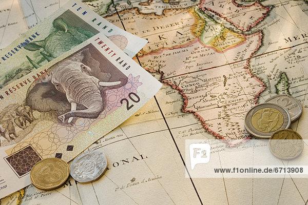 Südliches Afrika  Südafrika  Landkarte  Karte  Währung  südafrikanisch Südliches Afrika, Südafrika ,Landkarte, Karte ,Währung ,südafrikanisch