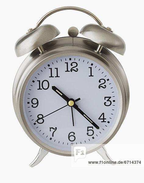 hoch  oben  nahe  Uhr  alarmieren