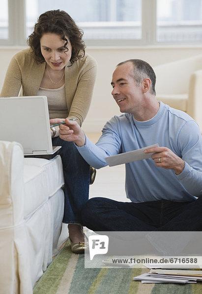 Interior zu Hause Internet bezahlen zahlen Rechnung
