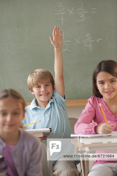 Studenten in einem Klassenzimmer