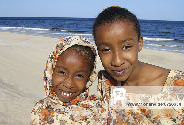 'Two Omani Girls At The Beach