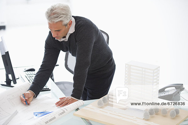 arbeiten Architekt Grundriss Plan