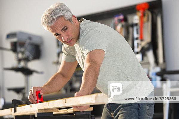 Holz Maß Handwerker Stück