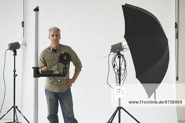 Fachleute  Fotograf  Studioaufnahme