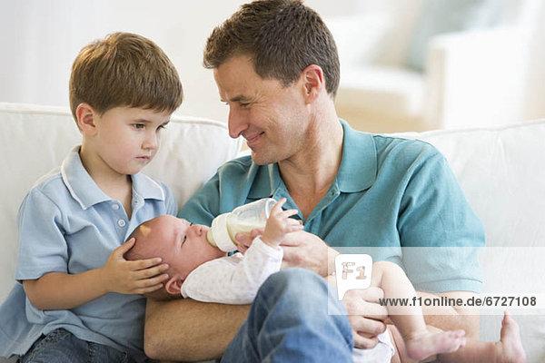 Menschlicher Vater Sohn 2