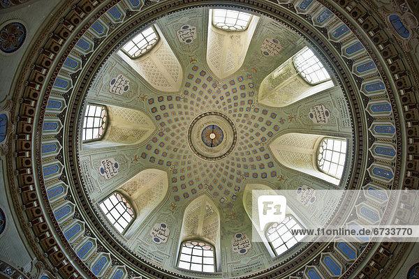 Palast  Schloß  Schlösser  Garten  Decke  Moschee  Schwetzingen