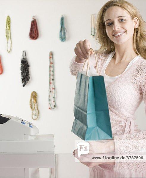 Boutique  Verkäuferin