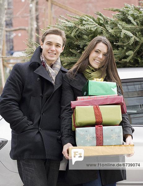 halten Stapel Weihnachtsgeschenk