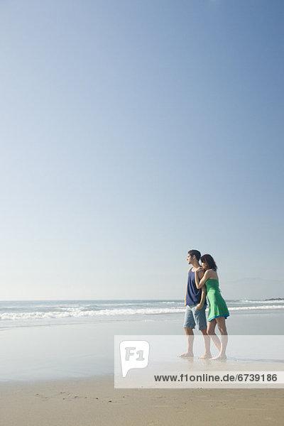 stehend Strand
