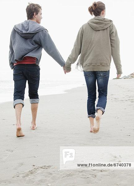 Paar hält Händchen  fully_released
