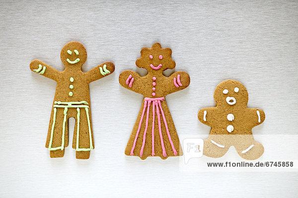 Lebkuchen-Familie