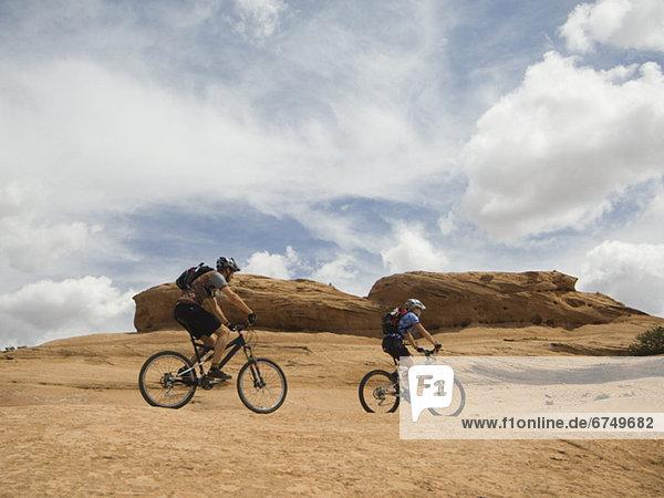 Wüste Fahrrad Rad Riding Mountain National Park