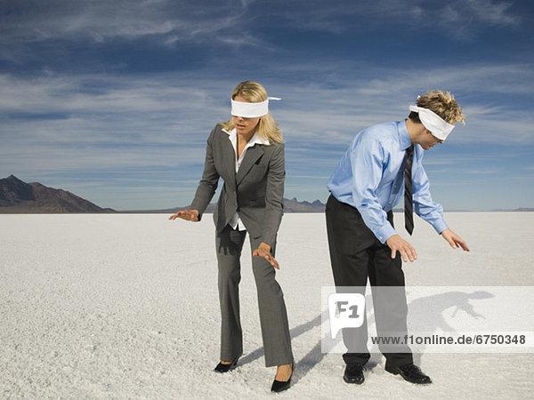 Vereinigte Staaten von Amerika  USA  Salztonebene  Utah