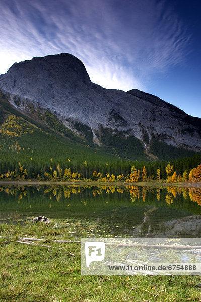 Wedge Pond  Kananaskis Alberta.