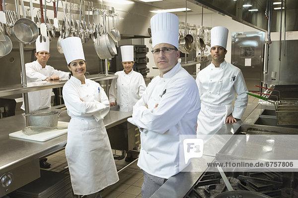 Pose  Küche  Koch