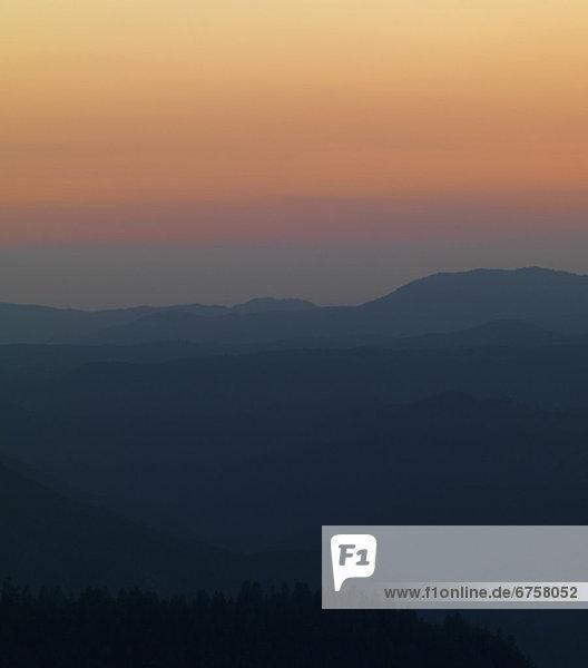 Berg  Sonnenuntergang  über  Ansicht